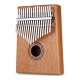 Kalimba De 17 Teclas, Instrumento Musical, Madera