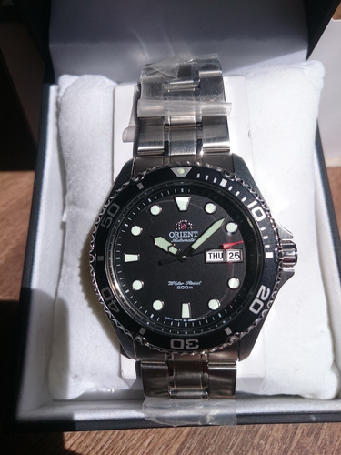 Reloj Orient Ray Ii (2) - Dial Negro - Último - Envío Gratis