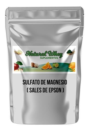 Sales De Epsom Sulfato De Magnesio Puro 99.9% 1 Kilo Usp