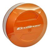 Cubre Rueda Bepo Para Ford Ecosport Kinetic Rojo Marte