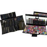 Set De Maquillaje X 100 Colores + Set De Brochas X 7 Piezas