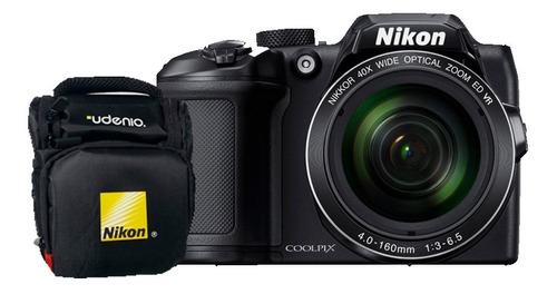 Cámara Coolpix Nikon B500 + Bolso Nikon Pera