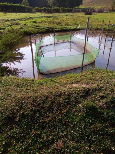 Tanque Rede Piscicultura Malha 1 Mm Tamanho 8x 1.50 X1.20