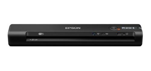 Escáner Portátil Epson Inalámbrico Workforce Es-60w Wifi