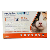 Revolution Plus Gato 2.5 A 5kg Antiparasitario Int / Externo