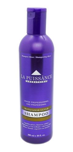 La Puissance Shampoo Matizador Silver Cabello Rubio X 300ml