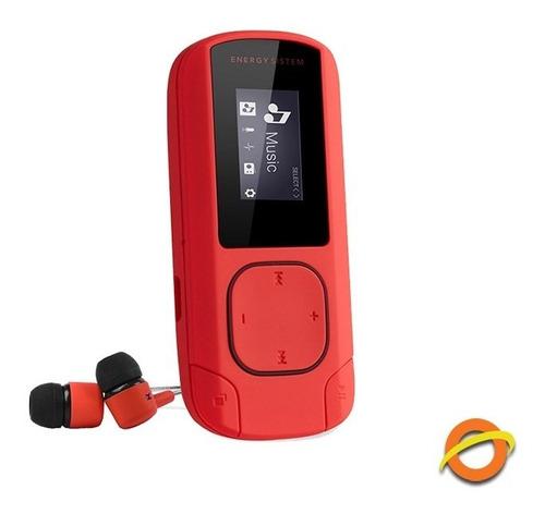 Reproductor Mp3 Radio Fm 8gb Recargable Grabador Voz Microsd