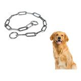 Collar Ahorque Perros Adiestramiento Paseo Eslabon 60 Cm