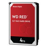 Disco Duro Interno Western Digital Wd Red Wd40efax 4tb Rojo