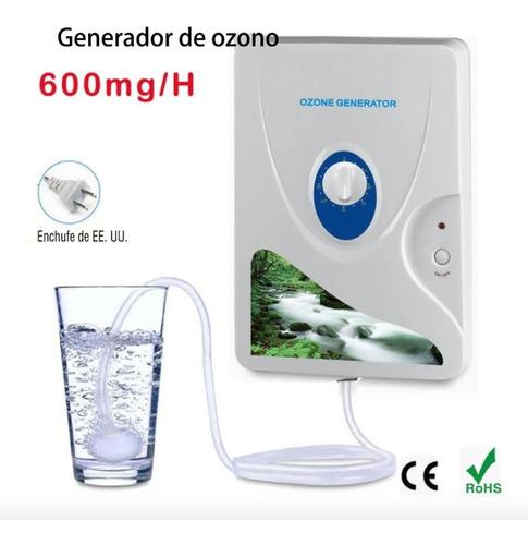 Generador De Ozono Purificador Ozonizador De Agua Y Aire