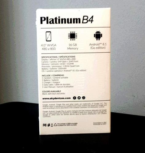 Celular Sky Devices Platinum B4  Ref. 40
