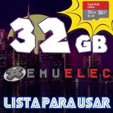 Micro Sd Emuelec 32g P/ Tv Box Rom Consola Retro 14000juegos