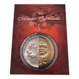 Álbum Coleccionador De Monedas Años 70s Y 80s México