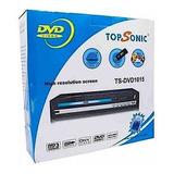 Reproductor Dvd Top Sonic Multiformato Puerto Usb Mp3 Mpeg4