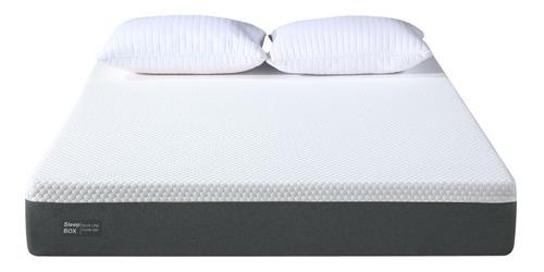 Colchón Alta Densidad 140x190 Con Memory Foam Soft Sleep Box
