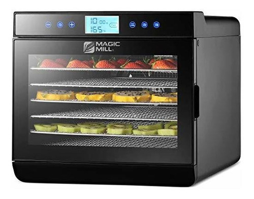 Máquina Deshidratadora De Alimentos Magic Mill - Fácil Confi