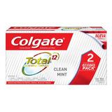 Pasta Dental Colgate Total 12 Clean Mint 100ml Pack X 2u