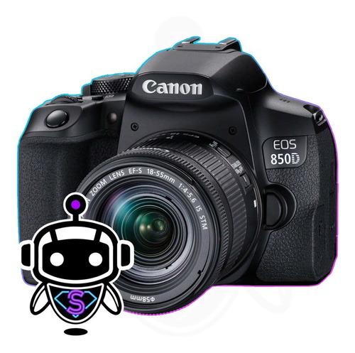 Canon Eos 850d + Lente + Memoria 128gb + Maleta + Tripode !!