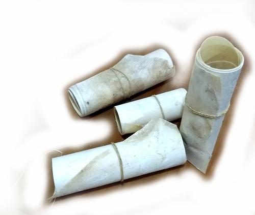 Lonja Cuero De Chivo 10 Cm Ancho 1 M Largo Blanca Grande
