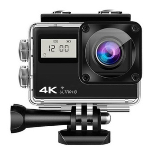 Camara  4k Ultra Hd Wifi  De Accion Deportiva Sumergible