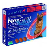 Nexgard Spectra 30 - 60 Kg 3 Masticables (rojo) Xl3