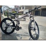 Bicicleta Plegable  - Acero Carbono, Aro 26