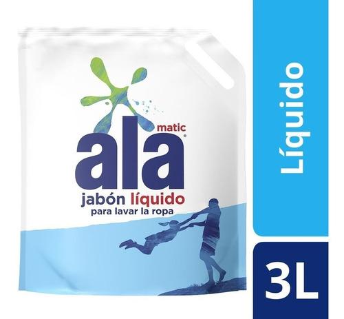 Jabón Líquido Ala Matic 3l