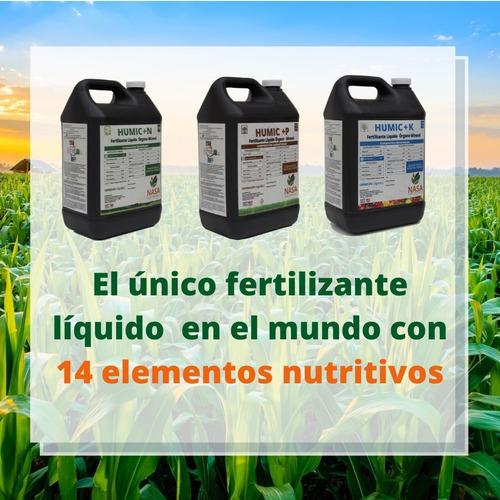 24kg Para 8 Hectareas Fertilizante Nasa Líquido 14 Elementos