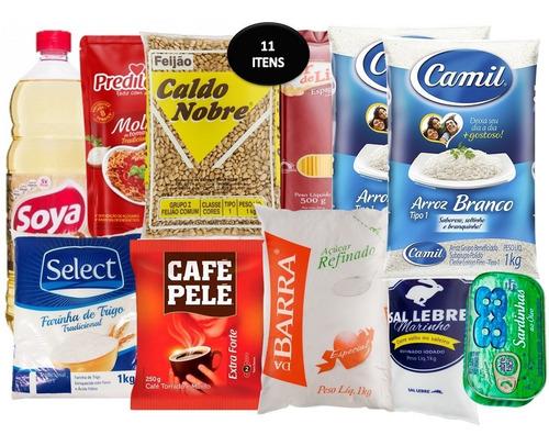 Kit Promocional Alimentos Básicos Envio Rápido Cesta Básica