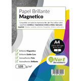 Papel Brillante Magnético 135g A4