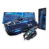 Teclado + Mouse Para Pc. Jugadores Gamin *soy Tienda*