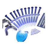 Kit Clareamento Dental 44% 10 S O+completo Original Com Led
