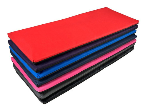 Colchoneta Gimnasia Fitness Gym Yoga C/ Cierre 1m*40cm*3cm