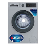 Lavarropas James 6 Kg Lr1007 1000 Rpm Silver Inox Gtía James