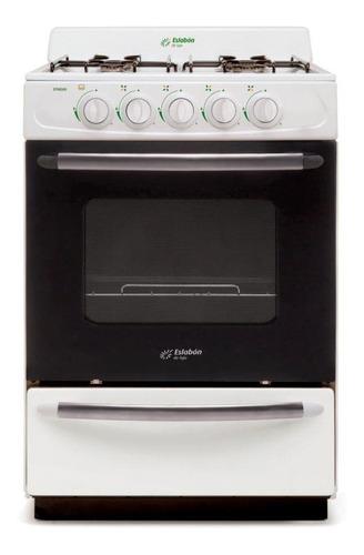 Cocina A Gas Eslabón De Lujo 56 Cm Efm56nb