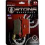 Pastilha De Freio Tras Honda Nx4 Falcon 400 99- R017 Original
