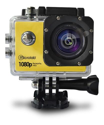 Cámara Deportiva Y Web Waterproof Isports Pro7 Hd 1080p Mlab