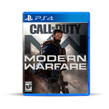 Call Of Duty Modern Warfare Ps4 En Español, Físico, Macrotec