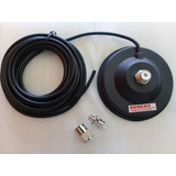 Base Magnetica Para Antenas Moviles Bc Vhf Uhf Romero Com
