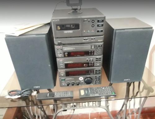 Equipo De Musica, Sony Md: St H 300 Completo Funcionando.