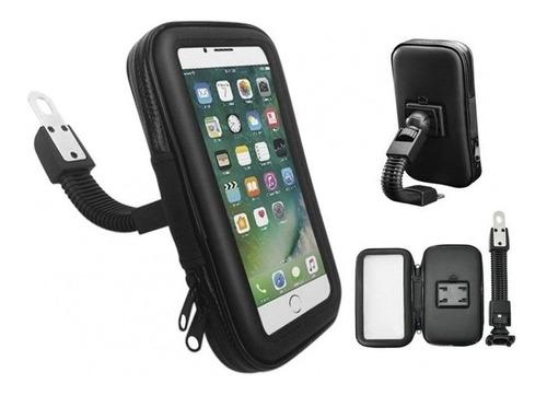 Soporte Funda Porta Celular Para Moto Bicic Impermeable