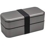 Organizador Function101 Bento Stack Box, Space Gray O Rose G