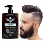 Shampoo De Barba Hidratante Cuidado Natural Barbería 260 Ml