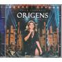 Cd Paula Fernandes - Origens - Ao Vivo Original