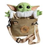 Baby Yoda Con Sonidos Real Con Mochila Articulado