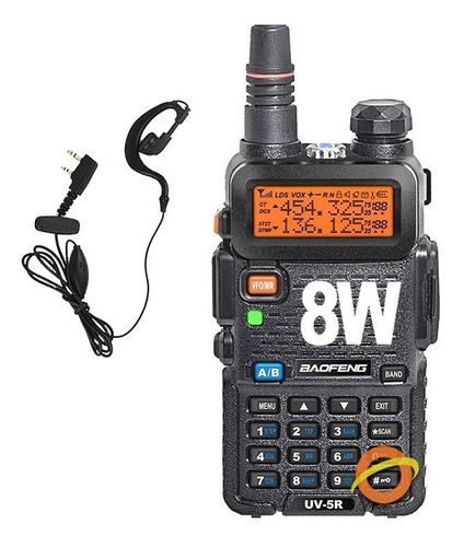 Handy Baofeng Radio Manos Libres Walkie Talkie Largo Alcance