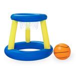 Juego Baloncesto Canasta Inflable Flotante C/ Pelota Bestway