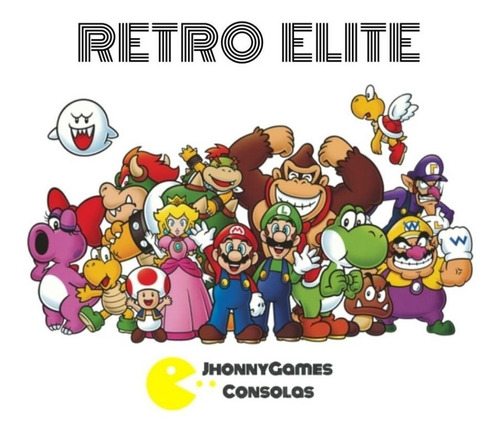 Consola Retro Elite Android+17200juegos+netflix+youtube+64gb
