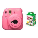 Camara Fuji Instax Mini 9 Instantanea + Cartucho 20 Fotos