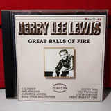 Jerry Lee Lewis Great Balls Of Fire (rockanroll) Cd Obligado